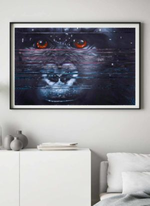 Interference Mountain Gorilla Giclee Print