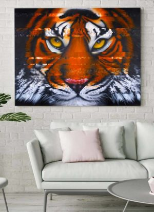 Interference - Sumatran Tiger original signed painting