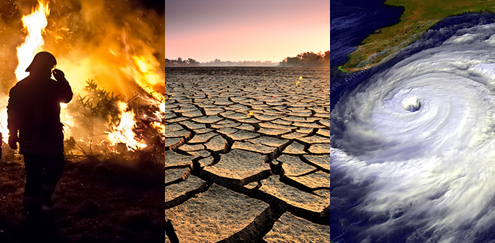 The consequences of climate change are visibly felt throughout the world