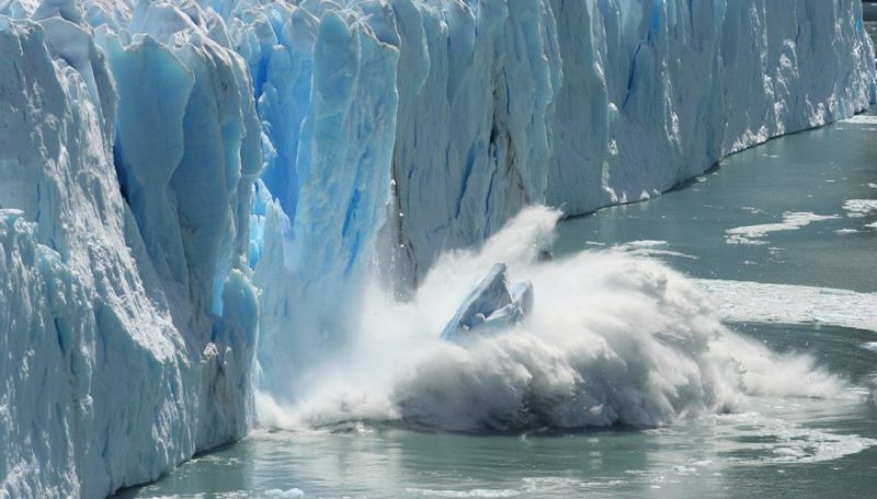 Glaciers are continuing to melt at a rapid rate