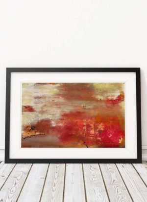 'Abstraction' signed giclee print by James Hartmann
