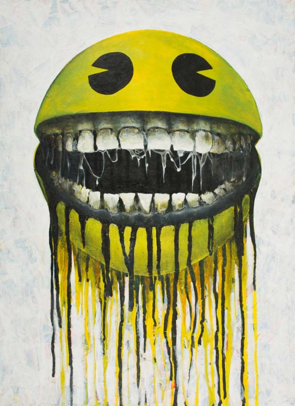 Feed Me - Original Signed Canvas