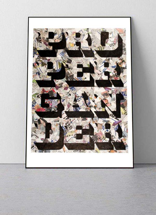 'Propaganda' Open Edition Signed Giclee Print