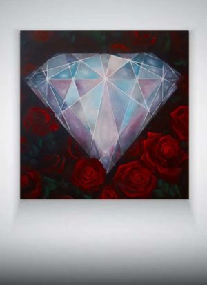 Original Blood Diamond signed painting