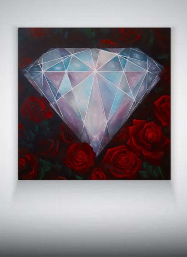 Original Blood Diamond signed painting