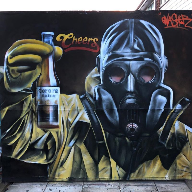Gnasher's stunning piece based on Breaking Bad character Walter White