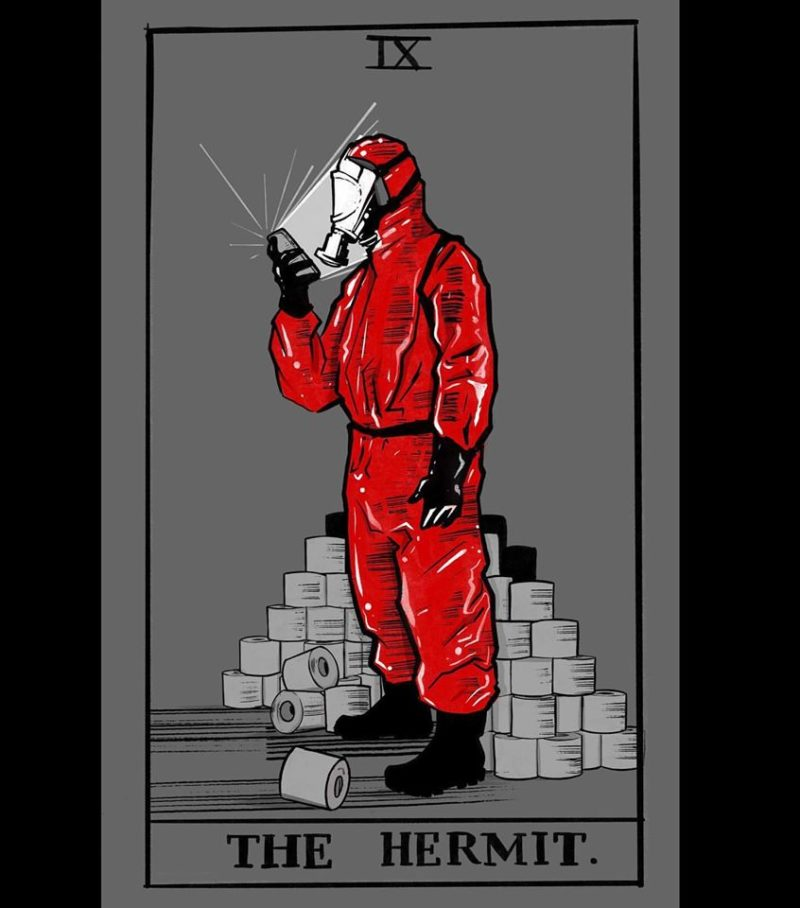 'The Hermit', by Lora Zombie