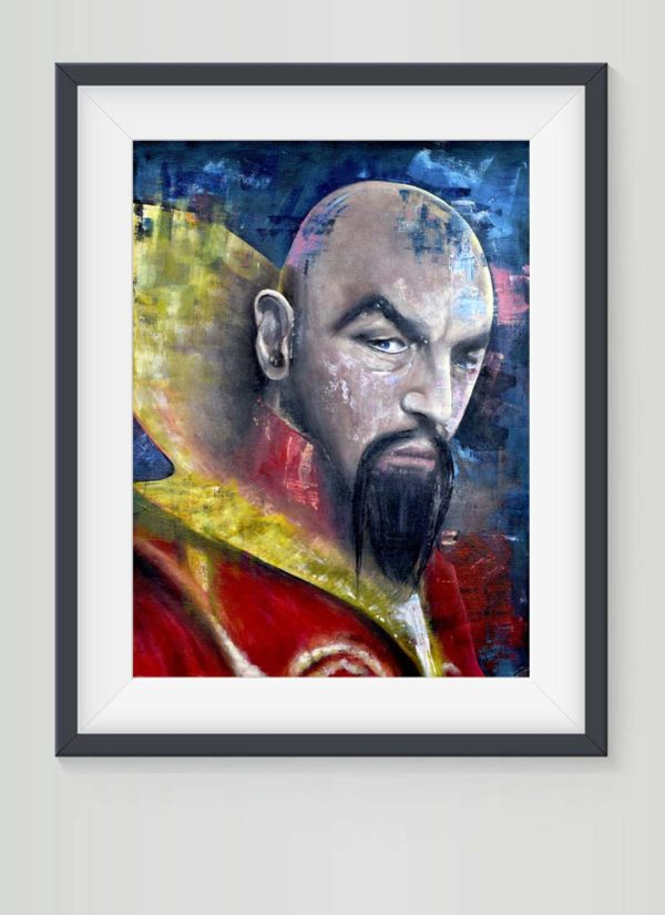 Ming the Merciless signed giclee print