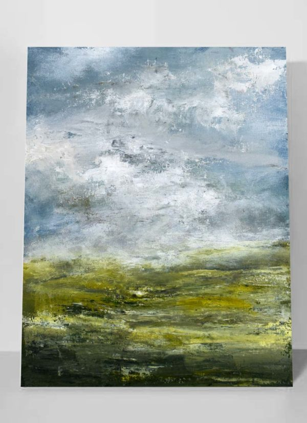 Original Abstract Landscape Signed Painting