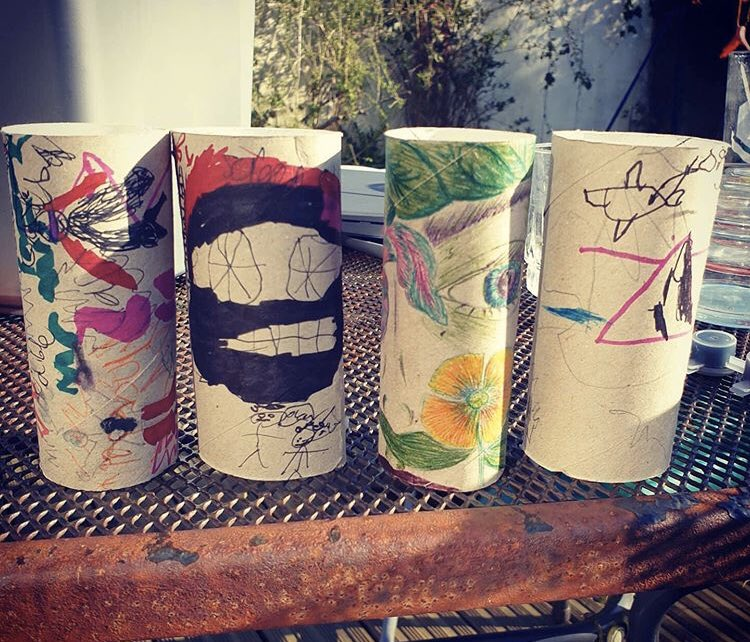 Some wonderful examples of what people of all ages are creating with loo roll