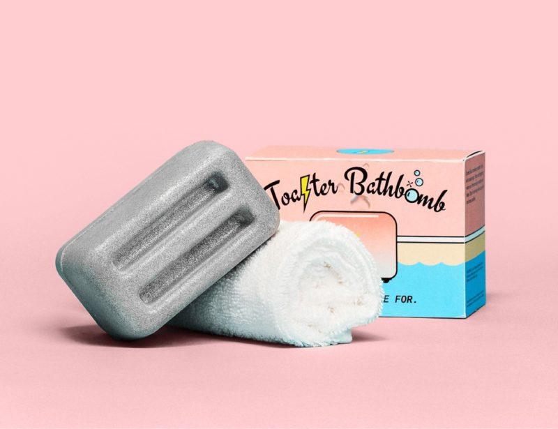 MSCHF toaster bath bomb