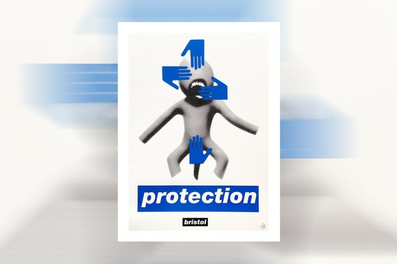 Protection artwork by Massive Attack member Robert Del Naja