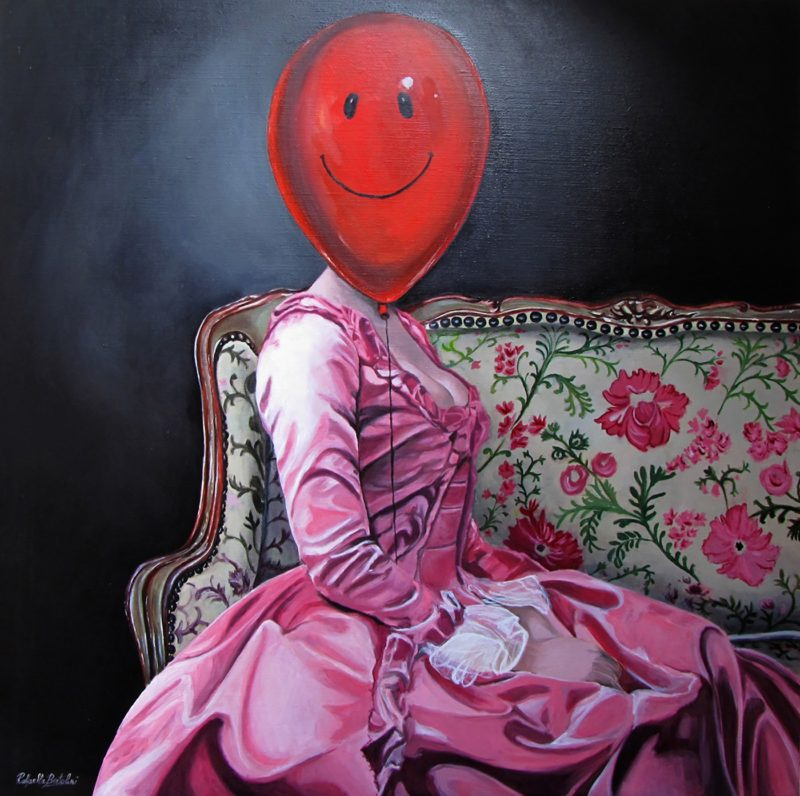 'Ballon Rouge' by Raffaella Bertolini