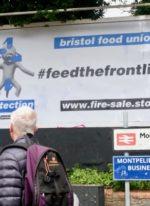 Massive Attack co founder 3D's #feedthefrontline campaign