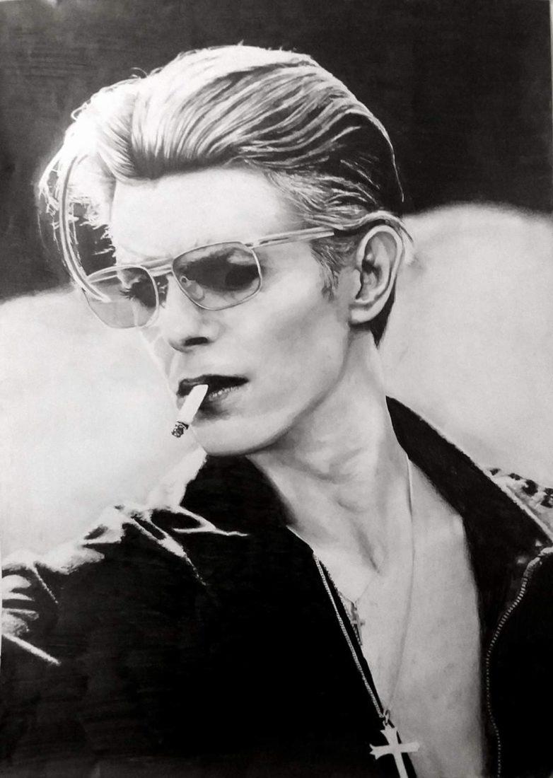 David Bowie by Indie Matharu