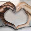 Powerful anti racist mural by Uk artist Nathan Murdoch