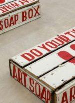 Bob & Roberta Smith's soapbox art