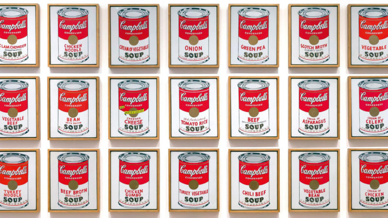 Art critics did not believe Andy Warhol's work should be considered art