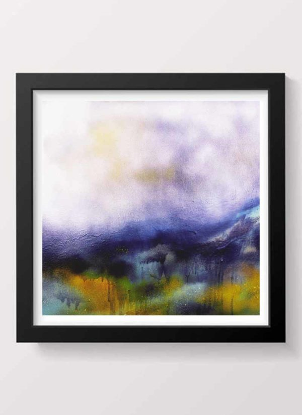 The rain soon passed giclee signed art print