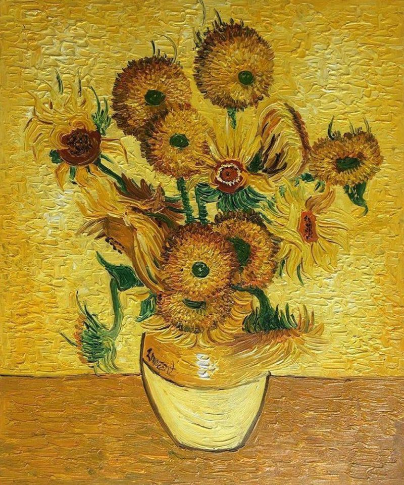 One of Van Gogh's most famous paintings 'Sunflowers' sold for almost $40 million