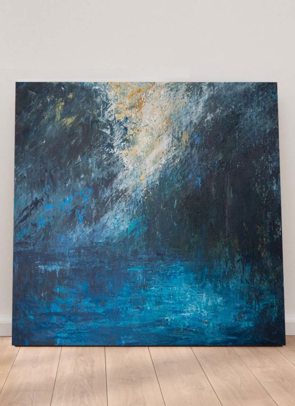 Break original abstract art painting