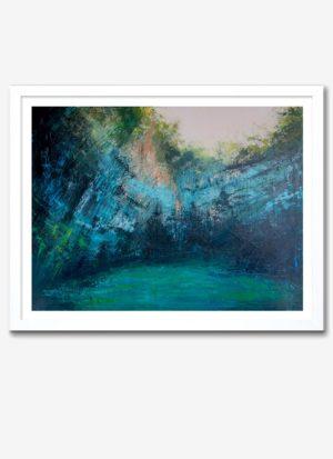 Melassani by Fiona McLauchlan-Hyde landscape art giclee print