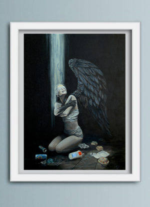 No More Time figurative art print by Mark Fox