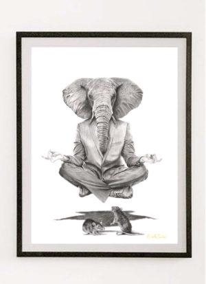 Conspiracy giclee fine art print by Raffaella Bertolini