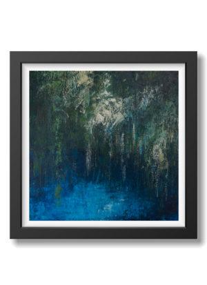 hidden by fiona mclauchlan hyde absract landscape art print