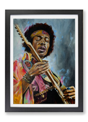 Jimi by Mark Fox pop icon fine art print