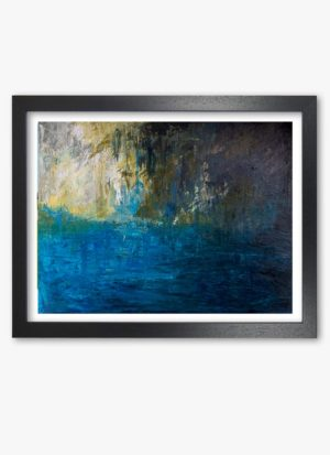 moment by Fiona McLauchlan-Hyde abstract landscape giclee art print