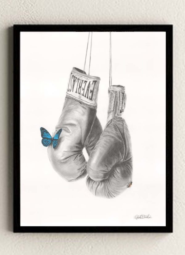 'Sting Like A Bee' giclee fine art print by Raffaella Bertolini