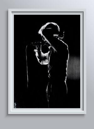 David Bowie fine art print by Indie Matharu