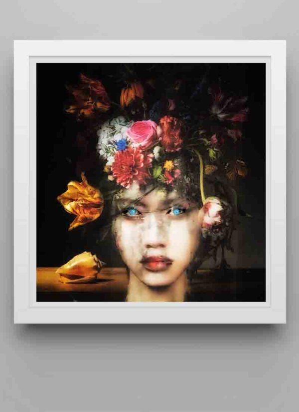 Hope giclee fine art portrait print by Caroline Reed