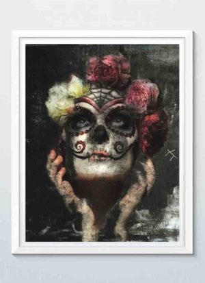 Out of the darkness 2 fine art portrait print by Caroline Reed
