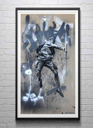 Reforgotten urban art giclee print by Stomp The Holy Bones