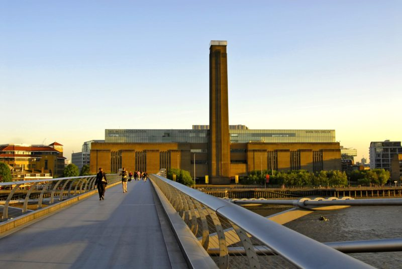 The iconic Tate Modern is the 5th most visited institution in the world