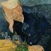 'Portrait of Dr Gachet' by Vincent Van Gogh. Just one of the twelve paintings featured in the Missing Masterpieces exhibition