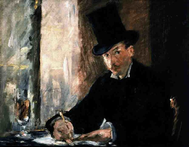 Chez Tortini by Édouard Manet stolen painting