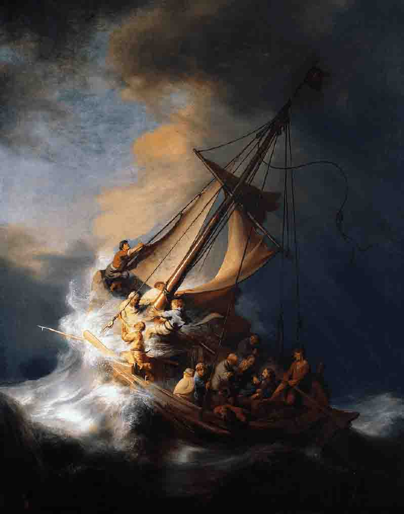 The Storm on the Sea of Galilee was just one of thirteen pieces stolen from the Isabella Stewart Gardner Museum in Boston, USA