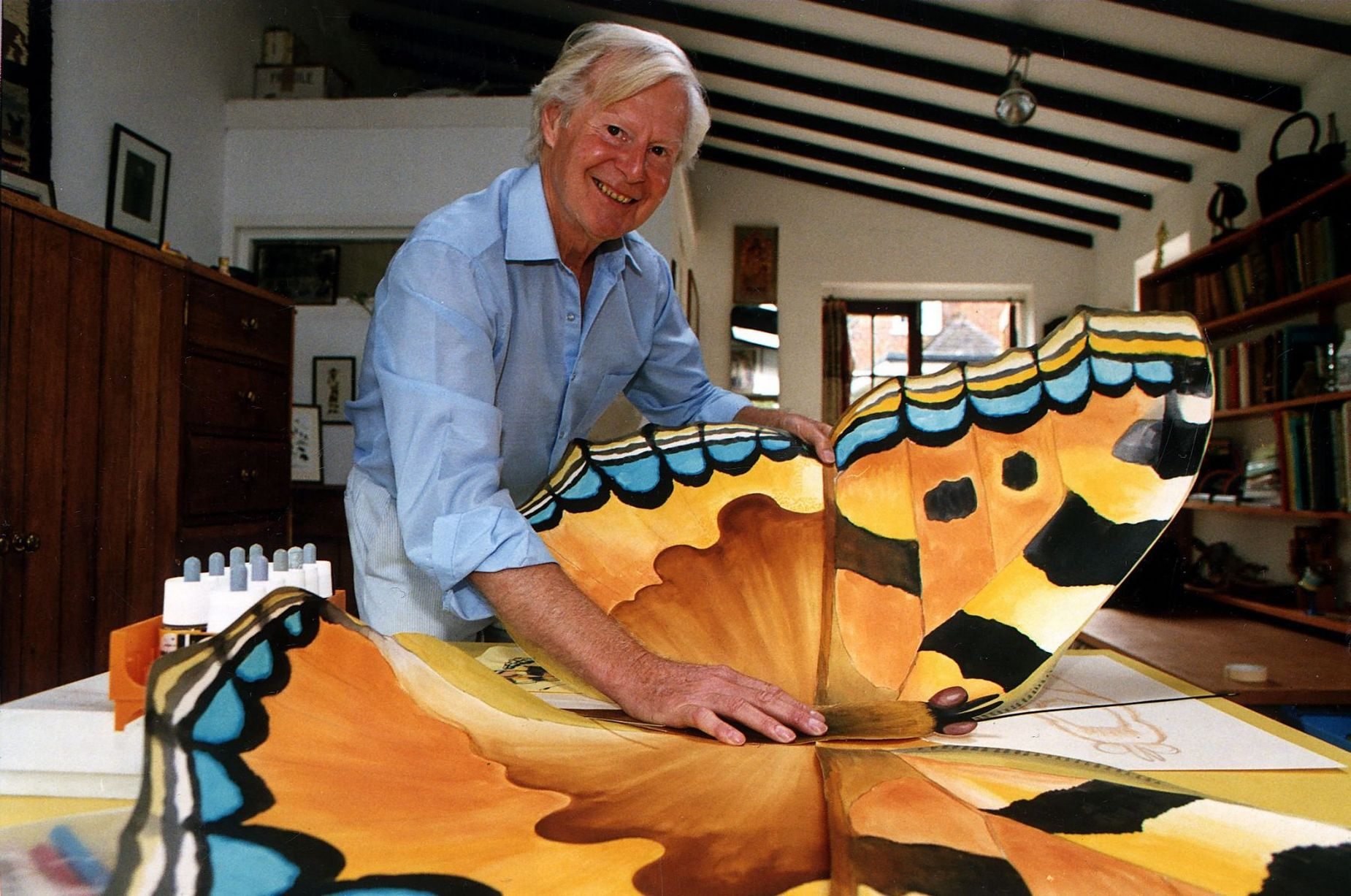 Tony Hart inspired a generation to pick up a paint brush