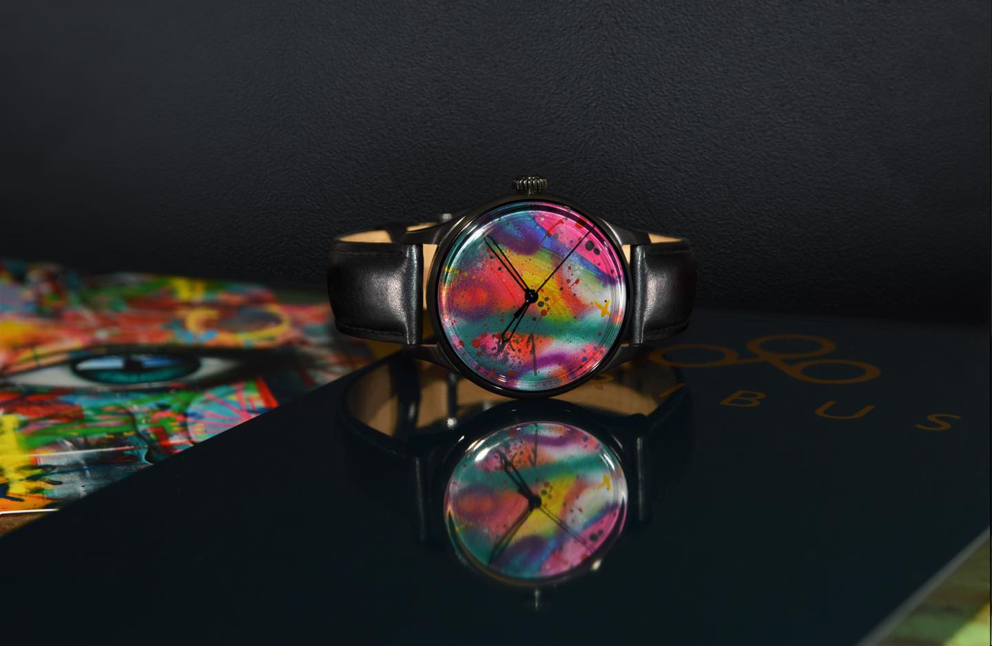 My Dog Sighs launches his range of hand finished watches with luxury brand Tribus