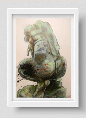 Venus modern art giclee print by Rebecca Ivatts