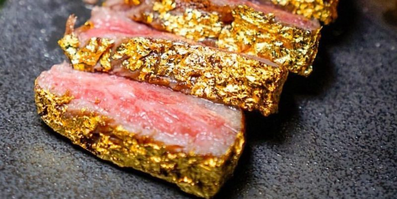 The gold steak gimmick that will set you back $1,000 in one of Salt Bae's restaurants