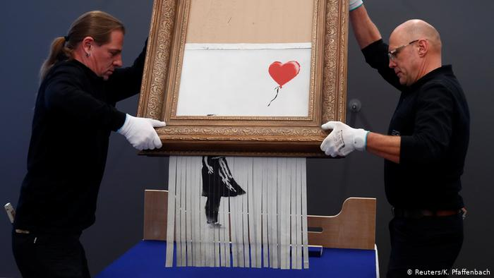 Street artist JPS speaks out about what he believes is going on with Banksy and Sotheby's