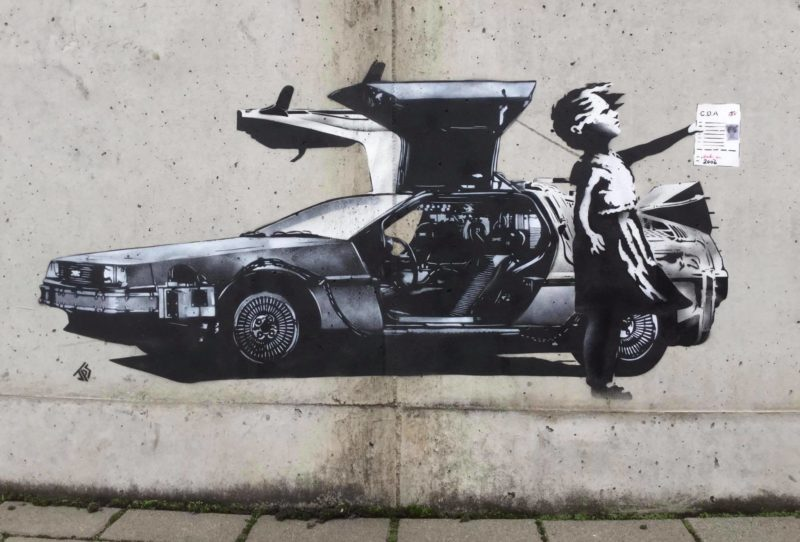 'Outta Time' by JPS sums up his feelings regarding the Banksy Sotheby's situation perfectly