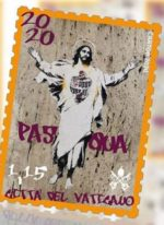 The Vatican has found itself in the middle of a law suit after using an unauthorised image created by street artist Alessia Babrow