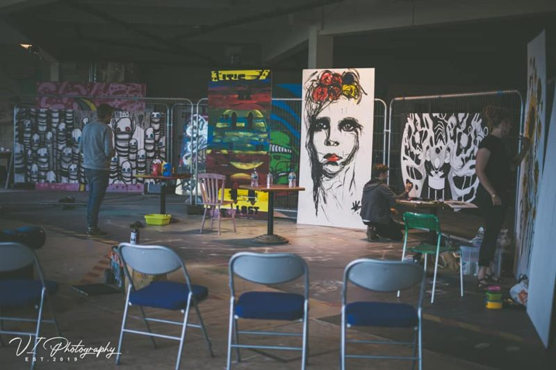 Korpfest, for the first time, hosted 5 artists as part of the Unity Paint Jam