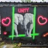 Unity Paint Jam 2021 featured 19 artists from 7 locations, streamed live for 6 hours (Artwork by RTC)