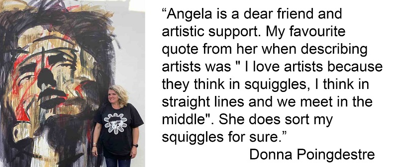 Donna Poingdestre aka Winnie May was one of Angela's first clients